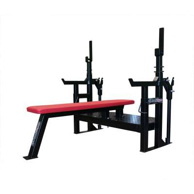 Gm-006 скамья для жима лежа пауэрлифтинг, домкратная скамья