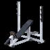AR014.1 Скамья для штанги со стойками наклонная 45 градусов