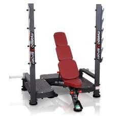 олимпийская скамья для жима регулируемая Marbo sport mp-l213