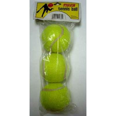Мяч большого тенниса (уп. 3шт) tiger