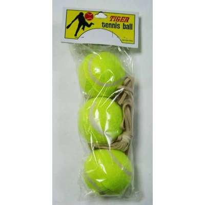 Мяч большого тенниса на резинке (3 шт)