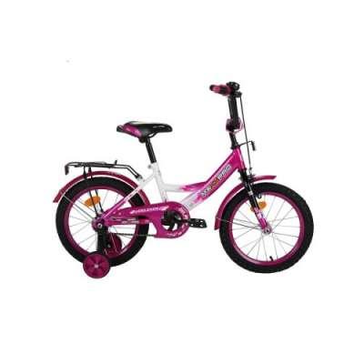"""16"""" велосипед maxxpro роз/бел z16"""