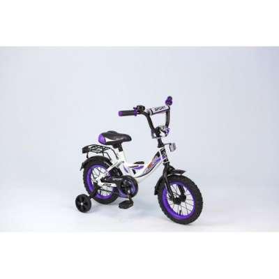 "12"" велосипед maxxpro sport бел/черн/фиол z12211"