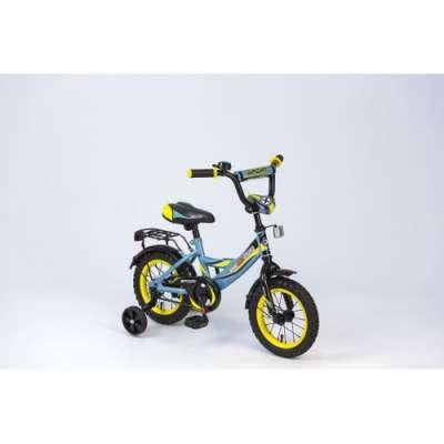 "12"" велосипед maxxpro sport сер/черн/желт z12212"