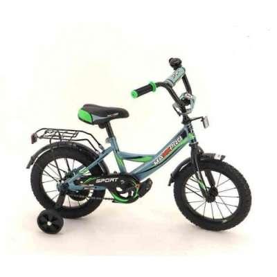 "14"" велосипед maxxpro sport сер/черн/зел z14208"