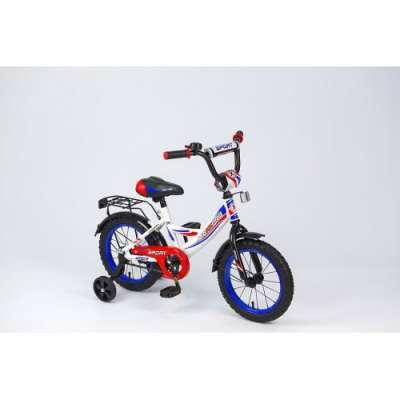 "14"" велосипед maxxpro sport син/бел/крас  z14209"
