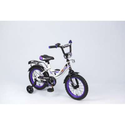 "14"" велосипед maxxpro бел/черн/фиол z14211"