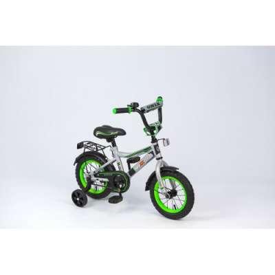 "18"" велосипед maxxpro onix серебр/черн/салат z18604"