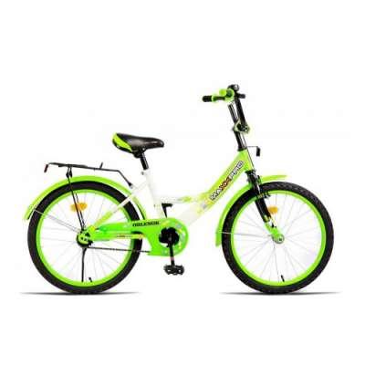 "20"" велосипед maxxpro бел/зел (бок кол) z20201"