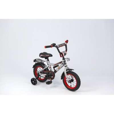 """18"""" велосипед maxxpro onix серебр/черн/красн z18601"""