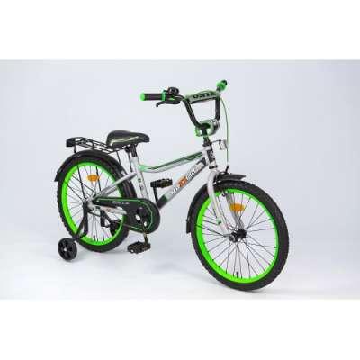 """20"""" велосипед maxxpro onix серебр/черн/зел z20602"""