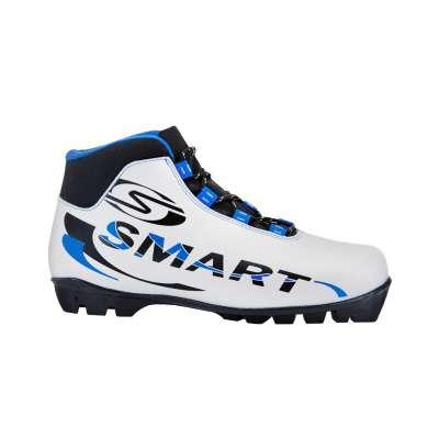 Ботинки лыжные nnn smart 357/2, синт. кожа, серый