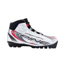 Ботинки лыжные sns creator 457/20, синт. кожа, белые